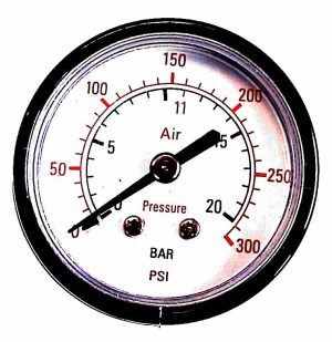 "Manometer 0-20Bar 1/4""(Bagud) Ø53mm"